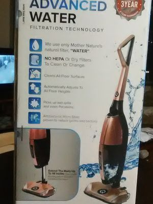 """THE QUANTUM X """" THE ONLY UPRIGHT VACUUM WITH WATER FILTRATION TECHNOLOGY"""" for Sale in Portland, OR"""