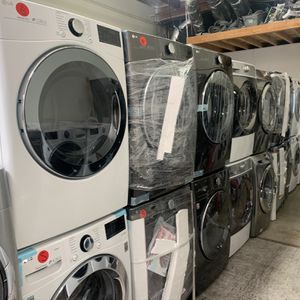 White Lg Washer And Gas Dryer for Sale in Orange, CA