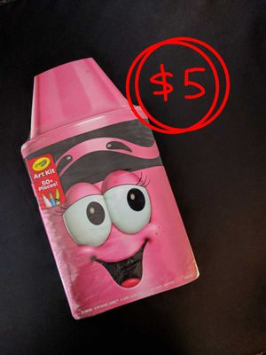 50 piece Crayola Art craft kit school supplies crayons markers brand new for Sale in Ventura, CA