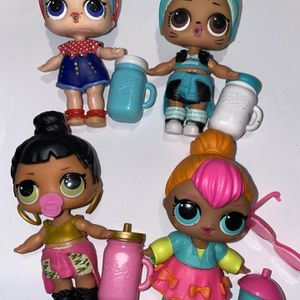 Lol Series 2 Dolls Lot Of 4 for Sale in Boring, OR
