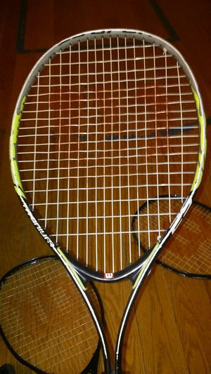 Three wilson tennis rackets for Sale in Brooklyn, NY