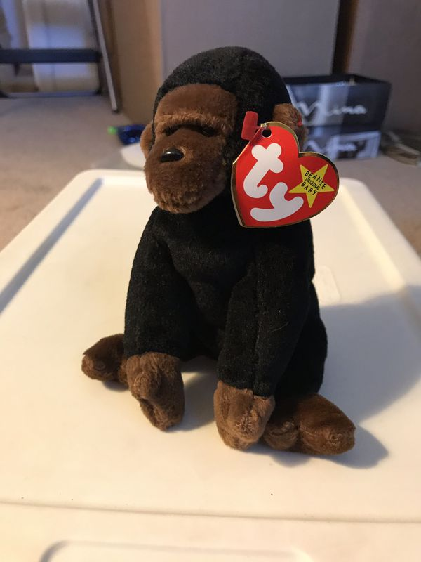 Variety of beanie babies