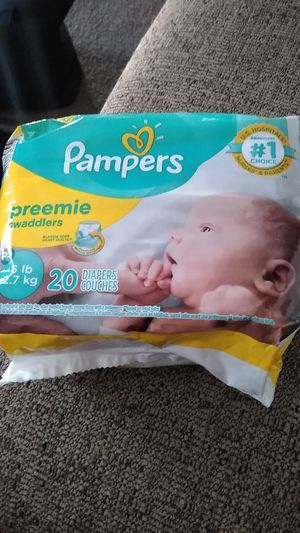 Pampers Preemie Diapers for Sale in Denver, CO