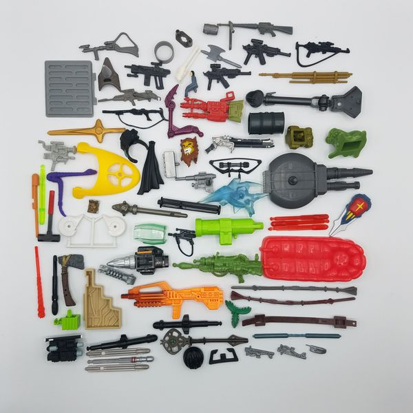 1990s Lot of Action Figure Weapons and Accessories