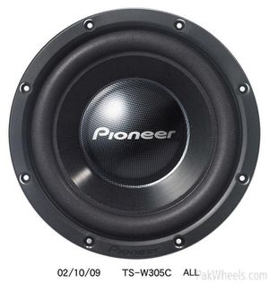"""12"""" Pioneers in NEW CONDITION with bass box for Sale in Hammond, IN"""