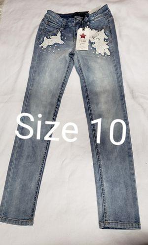 NEW- Girls Vanilla Star Jean's size 10 for Sale in Renton, WA