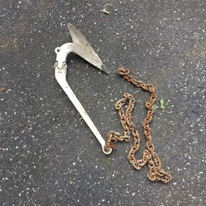 Antique boat Plow anchor for Sale in Concord, MA