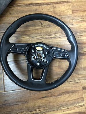 OEM 2018 Audi a3 steering wheel for Sale in Mather, CA