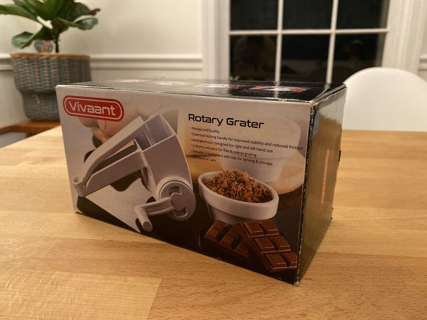 Vivaant Rotary Cheese Grater