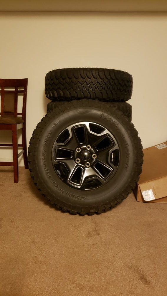 Jeep wheels and tires and extras