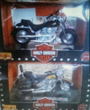 2 Maisto Harley Davidson Motorcycle for Sale in Marietta, GA