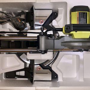 RYOBI 15 Amp 10 in. Sliding Compound Miter Saw for Sale in Glendora, CA