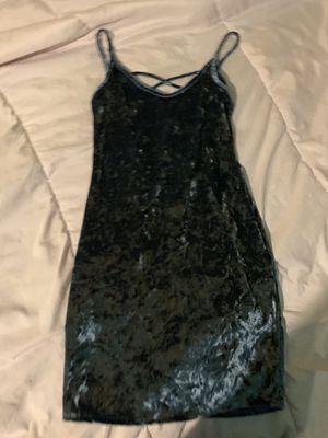 Blue Velvet Bodycon Dress for Sale in Chicago, IL