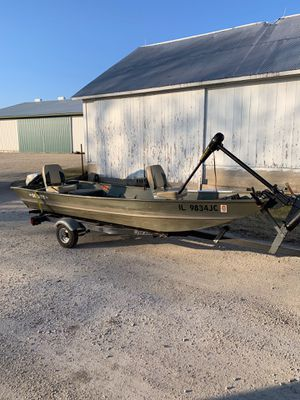 1998 Northwood Scout 14 Ft Jon Boat for Sale in Batavia, IL