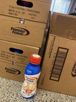 Premier Protien Vanilla Shakes for Sale in Bellaire,  TX