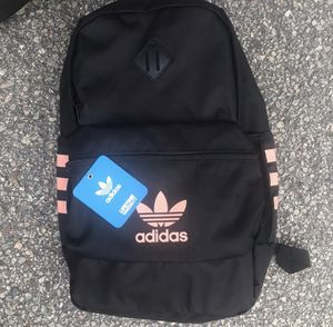 BESTSELLER NWT NEW WITH TAGS ADIDAS PINK TRACE BACKPACK BOOKBAG SCHOOL SUPPLIED COLLEGE BAG TRAVEL BAG for Sale in Virginia Beach, VA