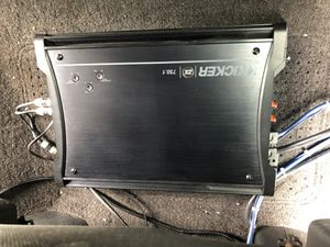 **Kicker ZX750.1 car stereo amplifier excellent condition for Sale in Oceanside, CA