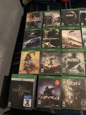 Xbox one games Kingdom Hearts 3, Destiny 2, Mortal Kombat 11, Halo 5, Rainbow Six Siege for Sale in Dallas, TX