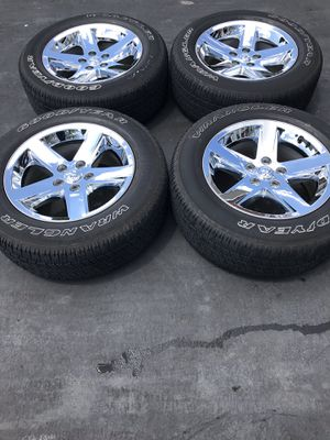 2018 Ram 1500 tires and wheels for Sale in Grove City, OH