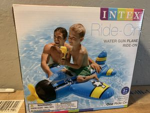 Kids Swim Float Toy Airplane Ride on for Sale in Fresno, CA