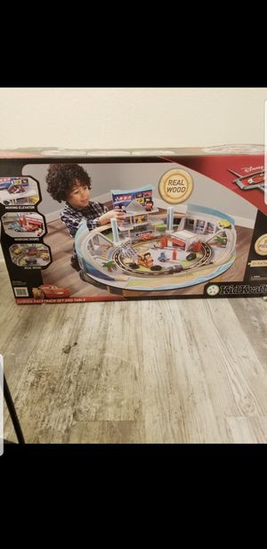 Kids cars full race track brand new in box dead stock hard to find for Sale in Sierra Madre, CA