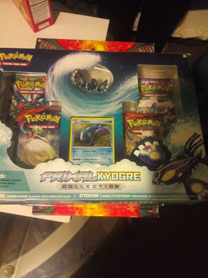 Primal kyogre collection pokemon cards for Sale in Chicago, IL