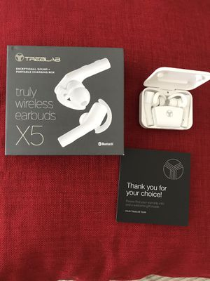 Earbuds TREBLAB X5 for Sale in Herndon, VA