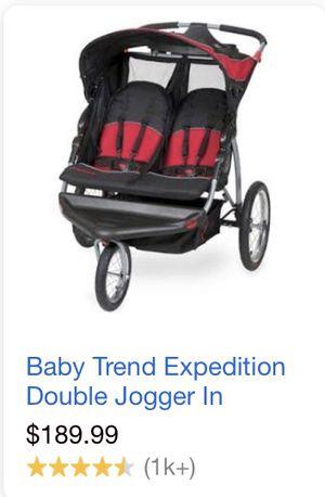 Schwinn double jogging stroller for Sale in Tampa, FL