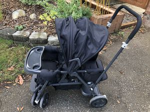 Joovy Caboose sit/stand stroller for two for Sale in Brier, WA