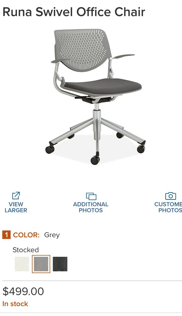 Okamura Runa Office Chair - High End Ergonomic - $500 Retail