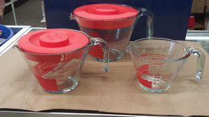 Pyrex 5 Piece Brand New Measuring Cup for Sale in High Point, NC