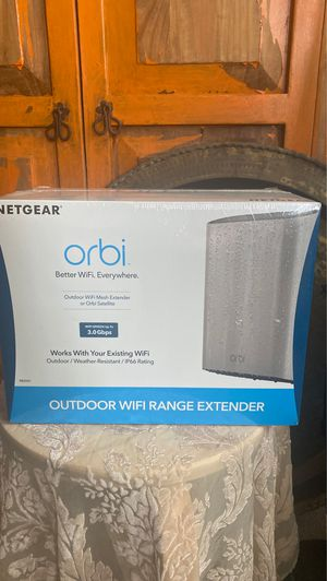 NETGEAR - ORBI Outdoor WiFi Range Extender RBS50Y for Sale in San Francisco, CA