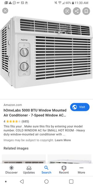 Window A/C only use for 2 monts for Sale in Middleburg, FL