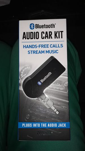 Bluetooth audio car kit. for Sale in Dublin, OH