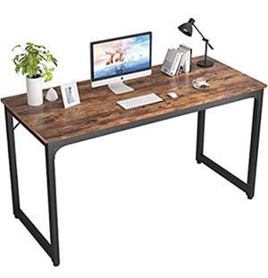 """Computer Desk 47"""" Modern Sturdy Office Desk PC Laptop Notebook Study Writing Table for Home Office Workstation for Sale in San Gabriel, CA"""
