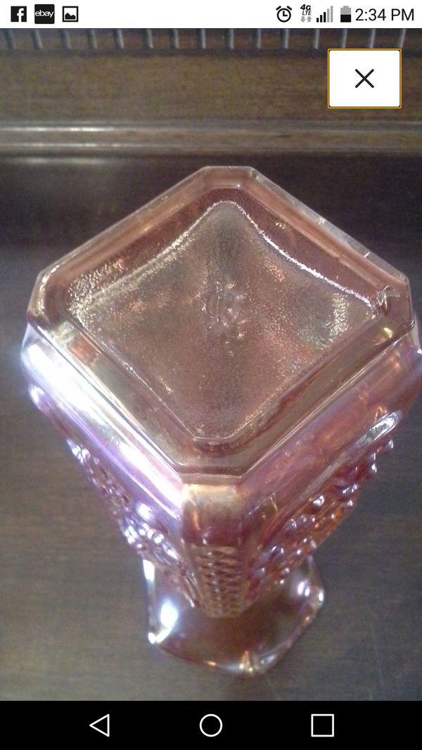 e0b3f0fd437 Demon Mephisto Carnival Glass Vase Gothic Imperial Glass Faust ...
