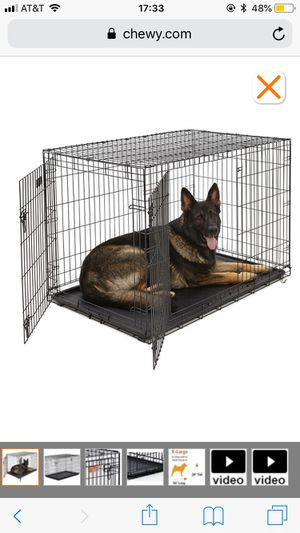 Large Dog Crate two doors for Sale in Orlando, FL