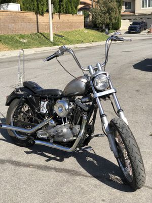 Harley Davidson Sportster xlch for Sale in Rancho Cucamonga, CA