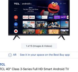 New TCL 40' Smart TV Obo for Sale in Kent,  WA