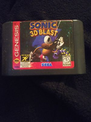 Sonic 3D Blast for Sale in Meriden, CT