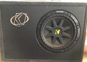 "Kicker 10"" sub / Alpine amp / Stinger wiring kit for Sale in US"