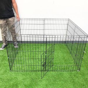 """$30 (brand new) dog playpen 8-panels x (24"""" tall x 24"""" wide) for Sale in Whittier, CA"""