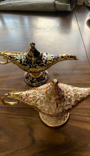 Aladdin magic Genie Lamps for Sale in Lincoln, NE
