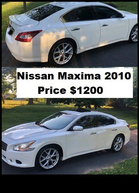 ֆ12OO_2010 Nissan Maxima