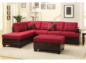 One left brand new in boxes 3pcs sectional sofa for Sale in Visalia, CA