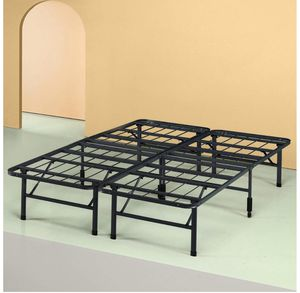 Foldable queen platform bed frame for Sale in San Diego, CA