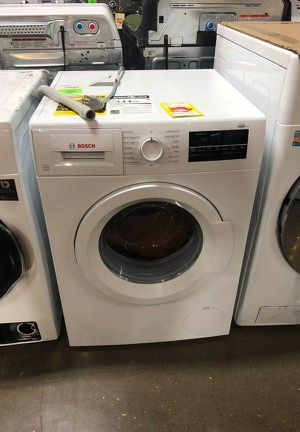 White Bosch Compact Washer 87X for Sale in Los Angeles, CA