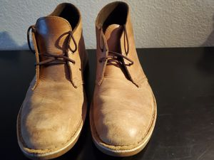 Clarks mens bushacre 2 chukka boots for Sale in Portland, OR