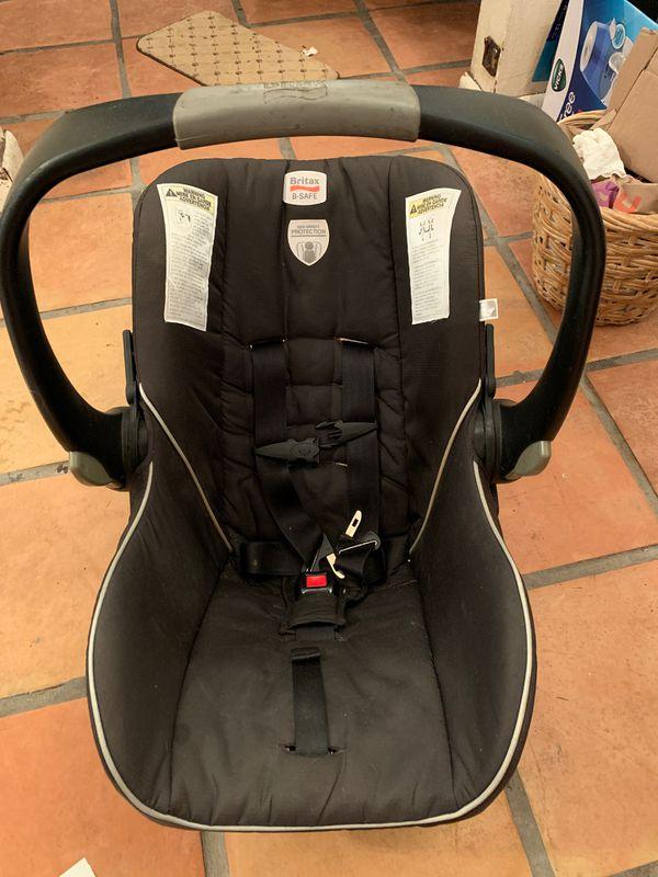BRITAX B-safe baby car seat FREE