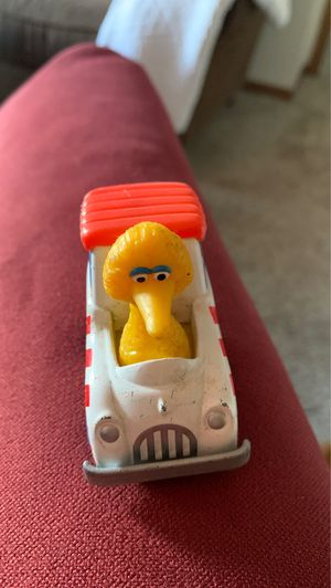 VTG Big Bird Popcorn Car Playskool Sesame Street Diecast Muppets Vehicle 1983 for Sale in Wyoming, MI